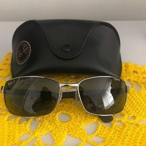 Authentic RAY BAN polarized  sunglasses